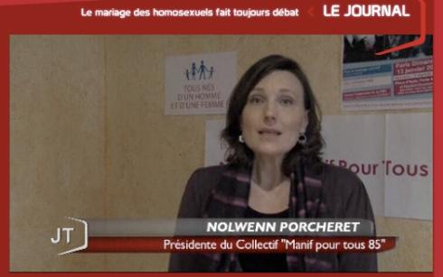 Nolwenn Porcheret La Manif Pour Tous Vendée